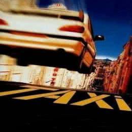 Обложка к диску с музыкой из фильма «Такси»