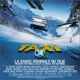 Обложка к диску с музыкой из фильма «Такси 3»