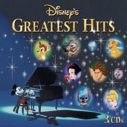 Обложка к диску с музыкой из сборника «Лучшие диснеевские хиты»