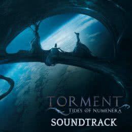 Обложка к диску с музыкой из игры «Torment - Tides of Numenera»