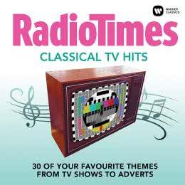 Обложка к диску с музыкой из сборника «Классические ТВ-хиты от Radio Times (2017)»