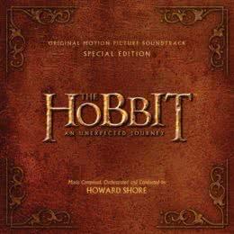 Обложка к диску с музыкой из фильма «Хоббит: Нежданное путешествие (Special Edition)»