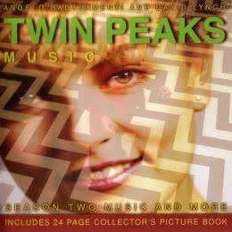 Обложка к диску с музыкой из сериала «Твин Пикс (2 сезон)»