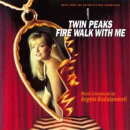 Обложка к диску с музыкой из фильма «Твин Пикс: Сквозь огонь»