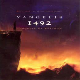 Обложка к диску с музыкой из фильма «1492: Завоевание рая»