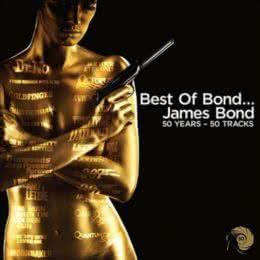 Обложка к диску с музыкой из сборника «Лучшее из Джеймса Бонда»