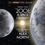 Маленькая обложка диска c музыкой из фильма «Космическая одиссея 2001»