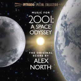 Обложка к диску с музыкой из фильма «Космическая одиссея 2001»