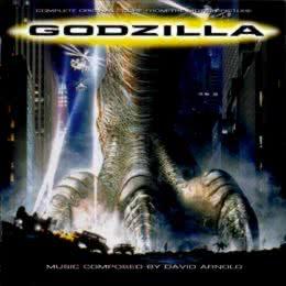 Обложка к диску с музыкой из фильма «Годзилла»