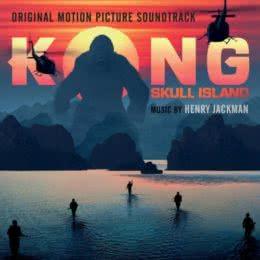 Обложка к диску с музыкой из фильма «Конг: Остров черепа»