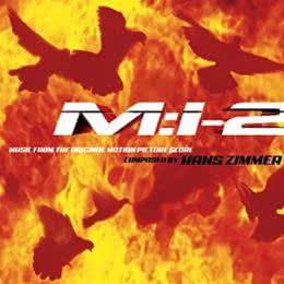 Обложка к диску с музыкой из фильма «Миссия невыполнима 2»