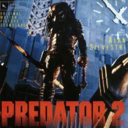 Обложка к диску с музыкой из фильма «Хищник 2»