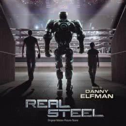 Обложка к диску с музыкой из фильма «Живая сталь»