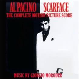 Обложка к диску с музыкой из фильма «Лицо со шрамом»