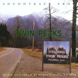Обложка к диску с музыкой из сериала «Твин Пикс (1 сезон)»