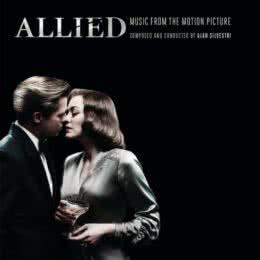 Обложка к диску с музыкой из фильма «Союзники»