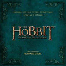Обложка к диску с музыкой из фильма «Хоббит: Битва пяти воинств (Special Edition)»