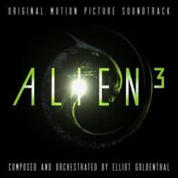 Обложка к диску с музыкой из фильма «Чужой 3»