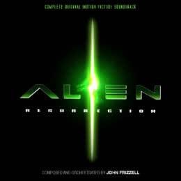 Обложка к диску с музыкой из фильма «Чужой 4: Воскрешение»