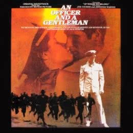 Обложка к диску с музыкой из фильма «Офицер и джентельмен»