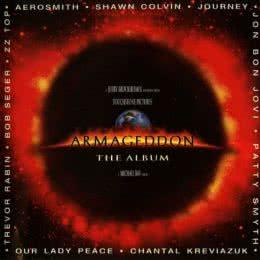 Обложка к диску с музыкой из фильма «Армагеддон»