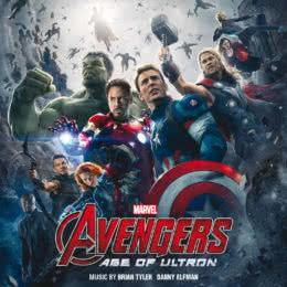 Обложка к диску с музыкой из фильма «Мстители: Эра Альтрона»