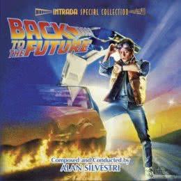Обложка к диску с музыкой из фильма «Назад в будущее»