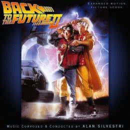 Обложка к диску с музыкой из фильма «Назад в будущее 2»