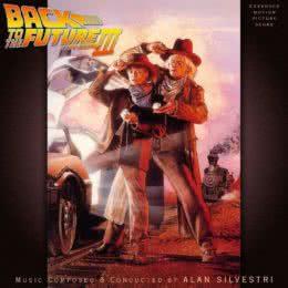 Обложка к диску с музыкой из фильма «Назад в будущее 3»