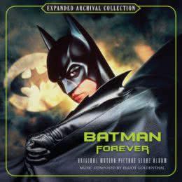 Обложка к диску с музыкой из фильма «Бэтмен навсегда (Expanded edition)»