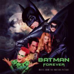 Обложка к диску с музыкой из фильма «Бэтмен навсегда»