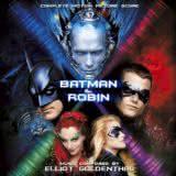 Маленькая обложка диска с музыкой из фильма «Бэтмен и Робин»