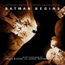Обложка к диску с музыкой из фильма «Бэтмен: Начало»
