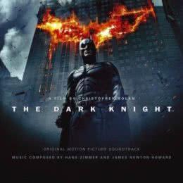 Обложка к диску с музыкой из фильма «Темный Рыцарь»