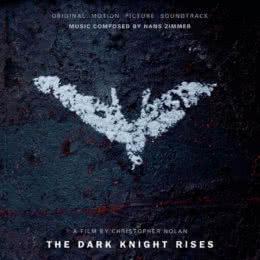 Обложка к диску с музыкой из фильма «Темный Рыцарь: Возрождение легенды»