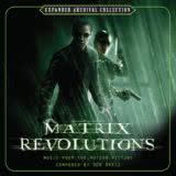 Маленькая обложка диска c музыкой из фильма «Матрица: Революция»