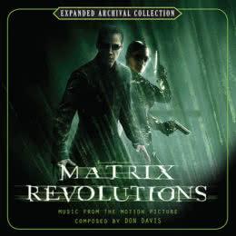 Обложка к диску с музыкой из фильма «Матрица: Революция»