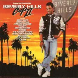 Обложка к диску с музыкой из фильма «Полицейский из Беверли-Хиллз 2»
