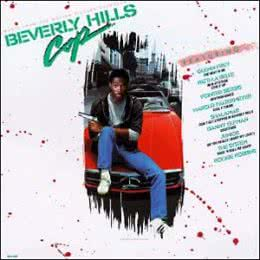 Обложка к диску с музыкой из фильма «Полицейский из Беверли-Хиллз»