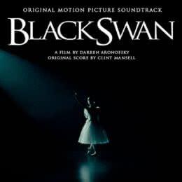 Обложка к диску с музыкой из фильма «Черный лебедь»