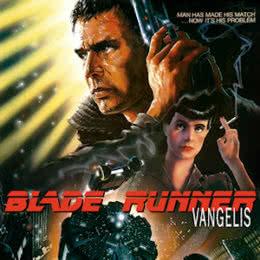Обложка к диску с музыкой из фильма «Бегущий по лезвию»