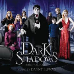 Обложка к диску с музыкой из фильма «Мрачные тени»