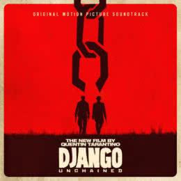 Обложка к диску с музыкой из фильма «Джанго освобожденный»