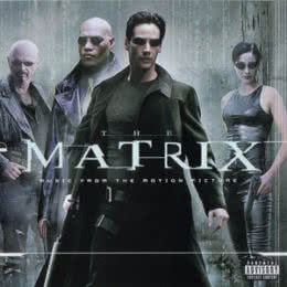 Обложка к диску с музыкой из фильма «Матрица»