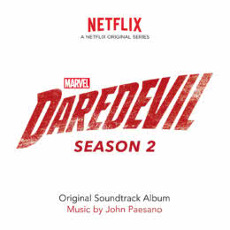 Обложка к диску с музыкой из сериала «Сорвиголова (2 сезон)»