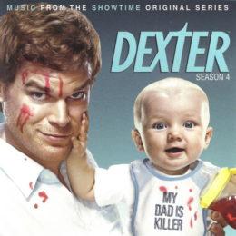 Обложка к диску с музыкой из сериала «Декстер (4 сезон)»