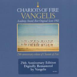 Обложка к диску с музыкой из фильма «Огненные колесницы»