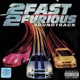 Обложка к диску с музыкой из фильма «Двойной форсаж»