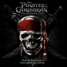 Обложка к диску с музыкой из фильма «Пираты Карибского моря: На странных берегах»