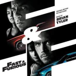 Обложка к диску с музыкой из фильма «Форсаж 4»